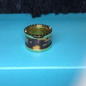 Michael Kors Tortoise and Gold ring